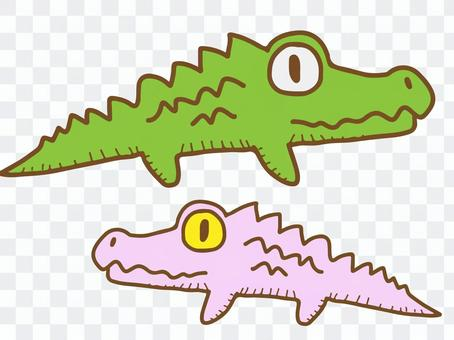填充动物(鳄鱼)