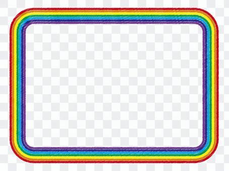 彩虹框架_ 01(彩色鉛筆風)