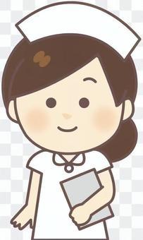 護士女(白·病歷)