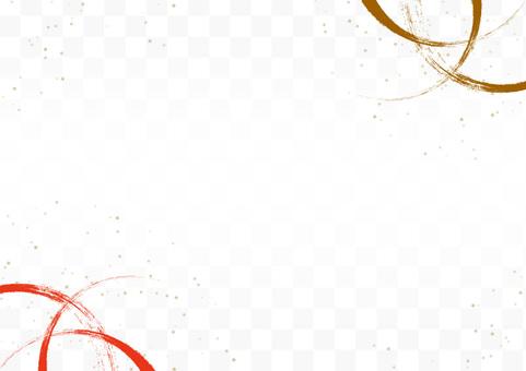 日式、日式圖案、金粉背景材料