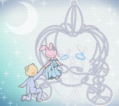 貓兔新婚夫婦