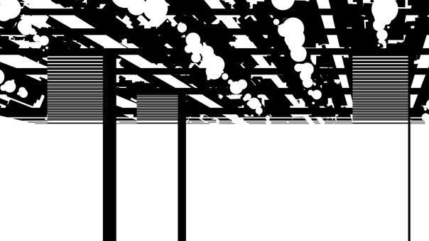 Venue silhouette, white background, transparent background