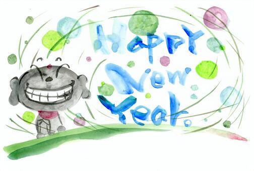 Jizo and Happy New Year