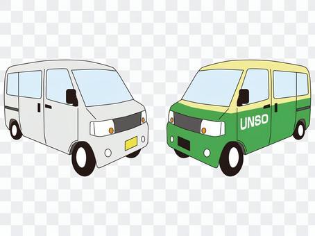 輕型貨車廂式車運輸
