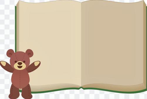 泰迪熊書架