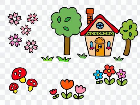 かわいい家