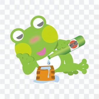 Frog (masu salted bottle)