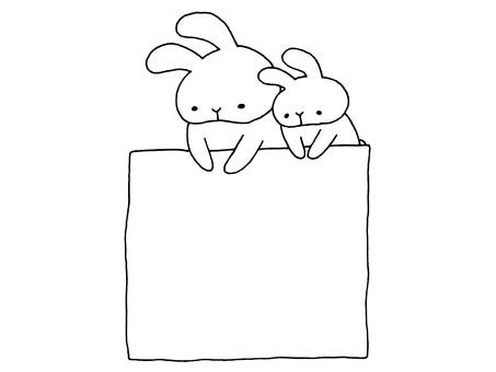 灰塵和兔子和紙1 1