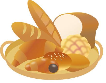 麵包在籃子裡