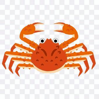 螃蟹的插圖
