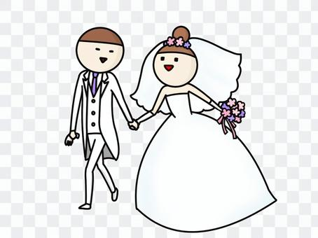 两个婚礼携手共进