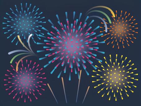 Fireworks festival night