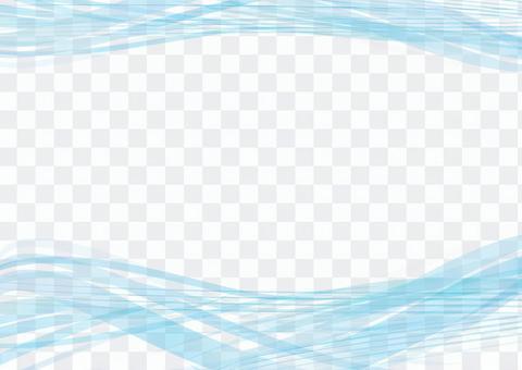 幀框架背景壁紙水波浪波海藍河