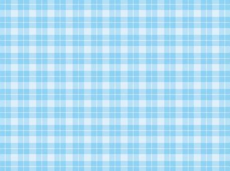 깅엄 체크 블루