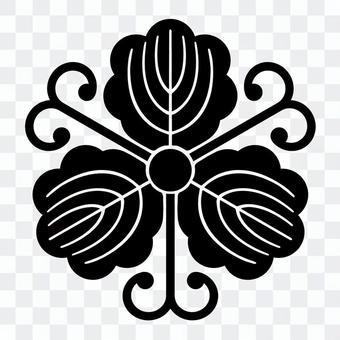 柏紋 蔓柏 일본의 가문