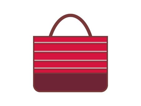 Border bag red