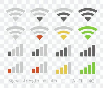 無線電波圖標集