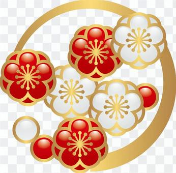 New Year decoration _ plum