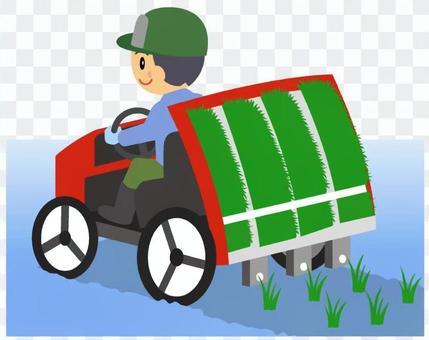 農業-田植え機