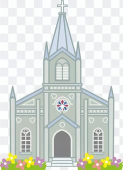 教會大教堂例證