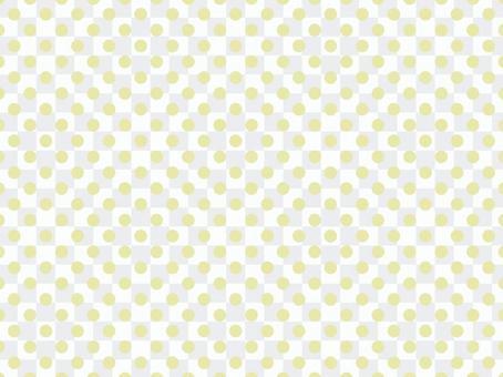 柔和的圓點/黃色