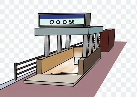 地鐵001號入口