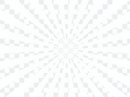 背景輻射徑向單色白色