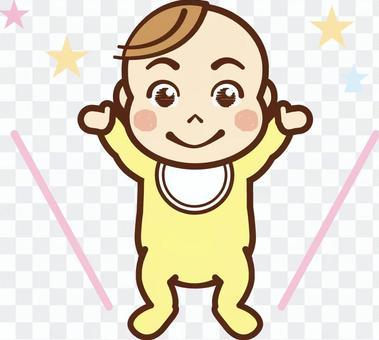 嬰兒站了起來! · 嬰兒服裝