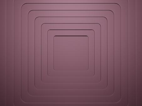 네모 난 구멍이 분홍색 판의 겹침