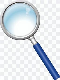 放大鏡(藍色)