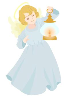 提著燈籠的天使