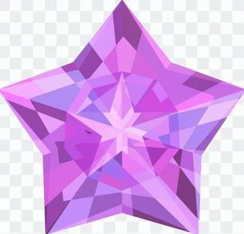 鑽石之星_紫色
