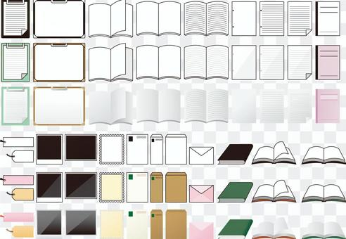 紙製品系統圖標(摘要)