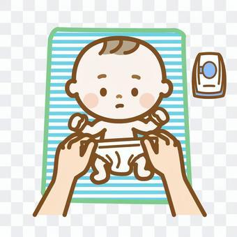 新生兒尿布換生活系列