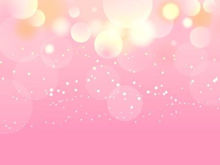 從上面落下的淺色背景粉紅色