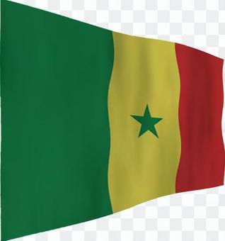 塞內加爾國旗
