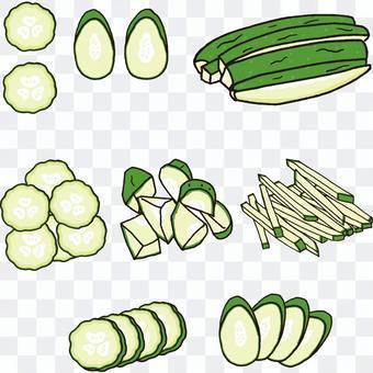如何切黃瓜