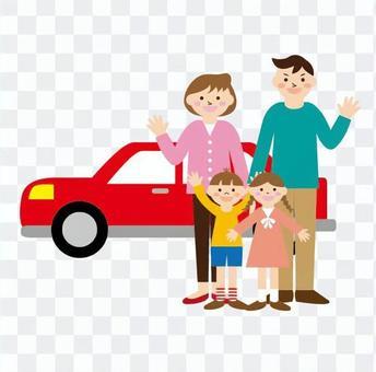 汽車和家庭
