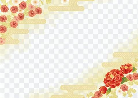 Japanese apricot frame