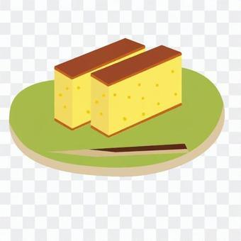 海綿蛋糕(帶盤)