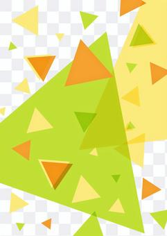 多汁的維生素顏色三角牆紙背景