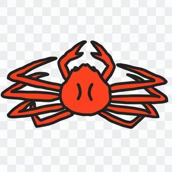 煮雪蟹(彩色)