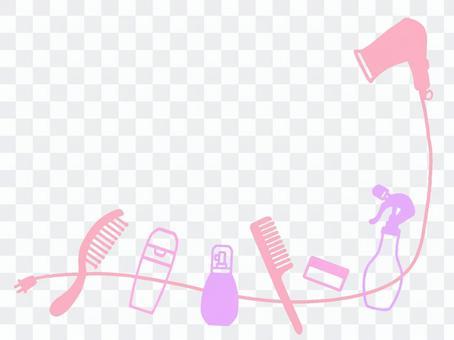 相框頭髮定型工具