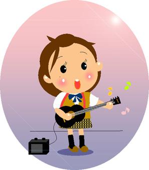 """文化節""""在舞台上唱歌!"""""""