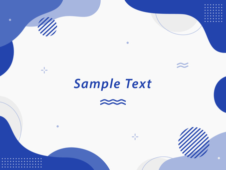 抽像圖案流行框架 01
