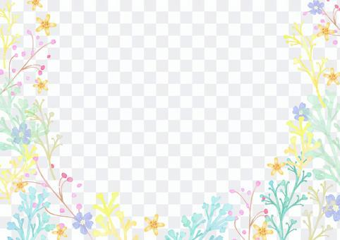 花材069水彩古典