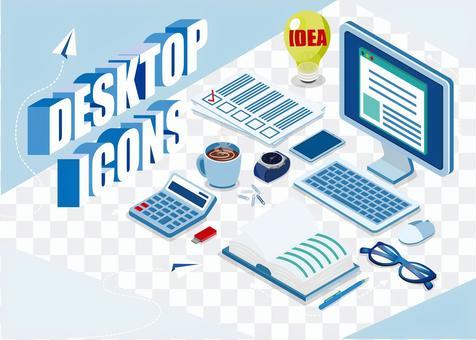 Desktop icon set