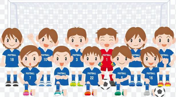 男孩橄欖球隊
