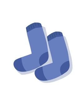 鞋子(藍色)