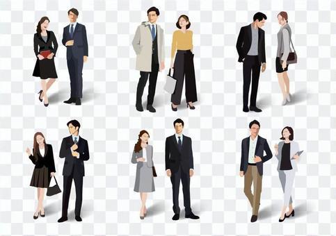 辦公室時尚男女【2】
